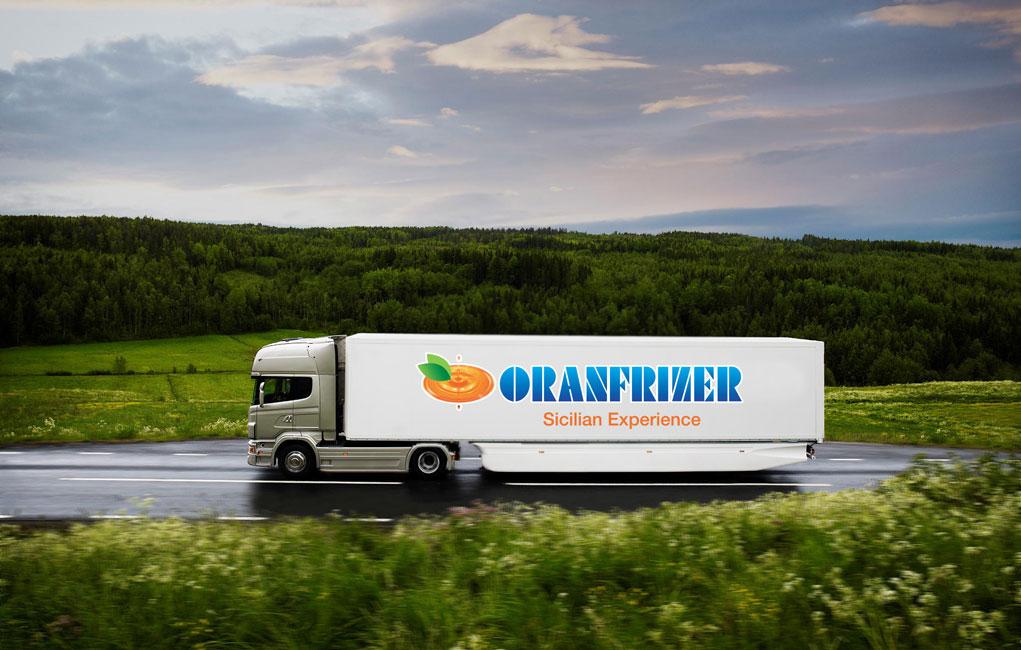 La logistica di Oranfrizer